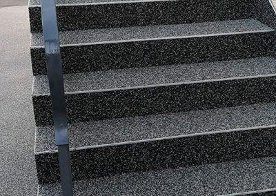 Escalier à Besançon