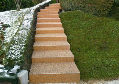 Escalier à Pirey