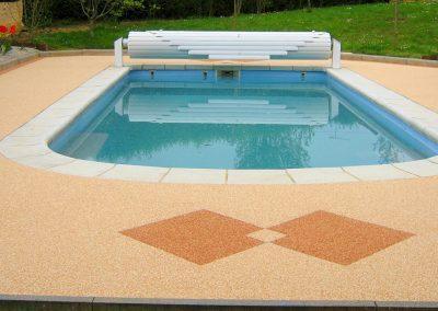 Plage de piscine à Dannemarie-sur-Crête