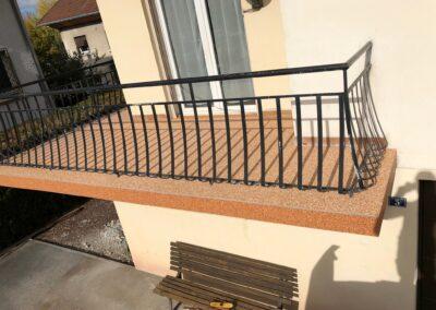 Balcon à Pontarlier