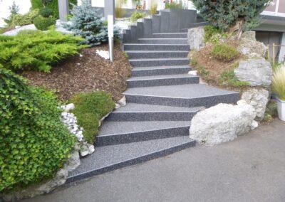 Escalier à Charquemont